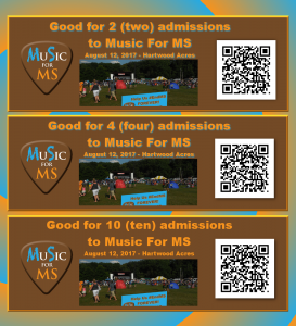 MuSicForMS Tickets